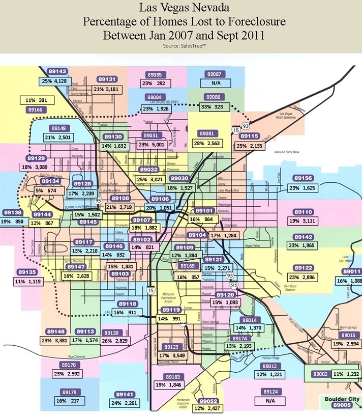 All Zip Codes Are Not Created Equal Las Vegas Real Estate