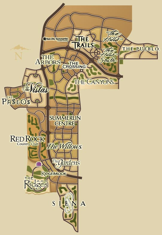 Summerlin Map