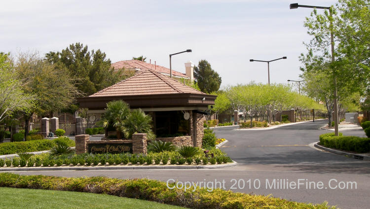 Country Club Hills Summerlin Las Vegas Real Estate