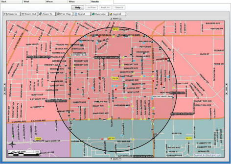 Las Vegas area crime information - Maps - Las Vegas Real Estate on