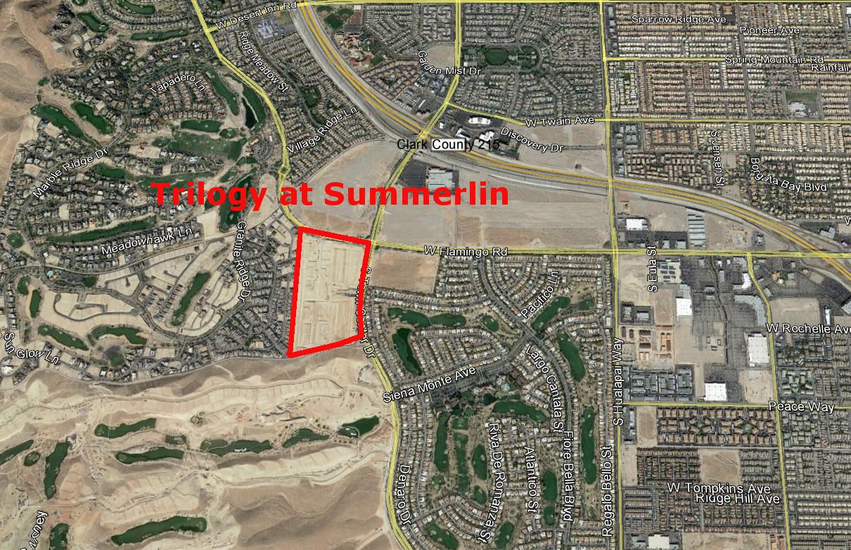 Trilogy Las Vegas At Summerlin Las Vegas Real Estate